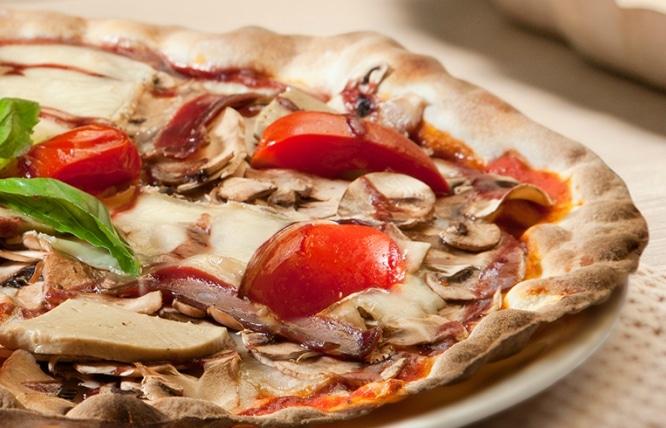 Pizza foie