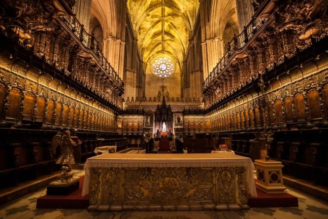 coro catedral de sevilla