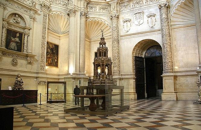 sacristia mayor catedral de sevilla