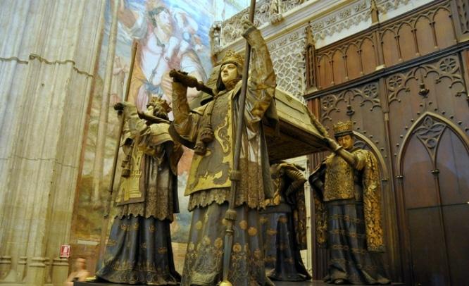 tumba colon catedral sevilla