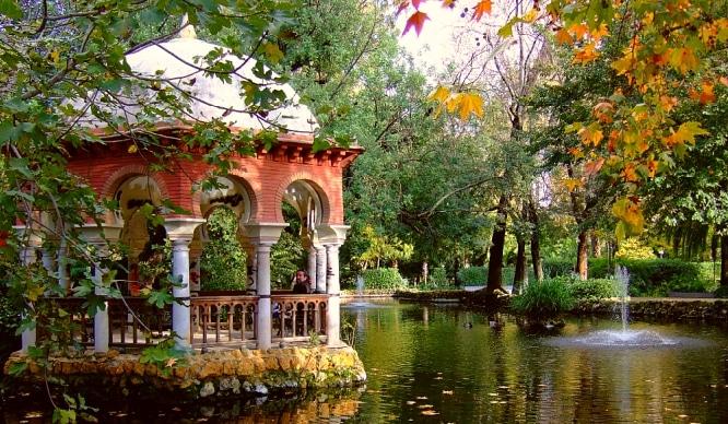 Resultado de imagen de parque maria luisa