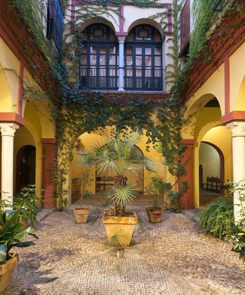 patio casa de los pinelo sevilla