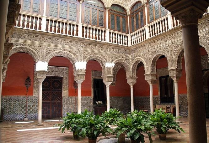patio casa palacio salinas sevilla