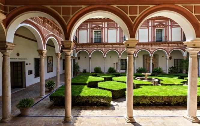 patio museo de bellas artes de sevilla