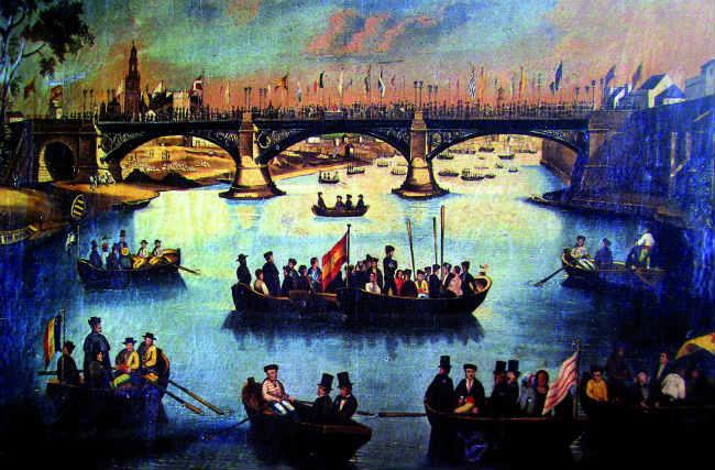 004_Inauguración_del_Puente_de_Triana_en_1852