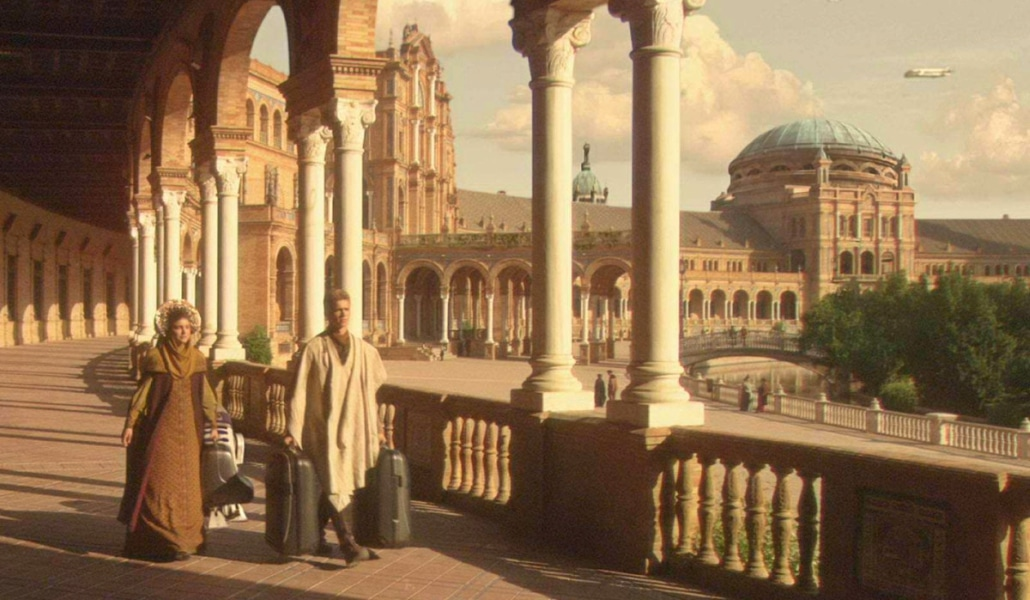 plaza de españa star wars