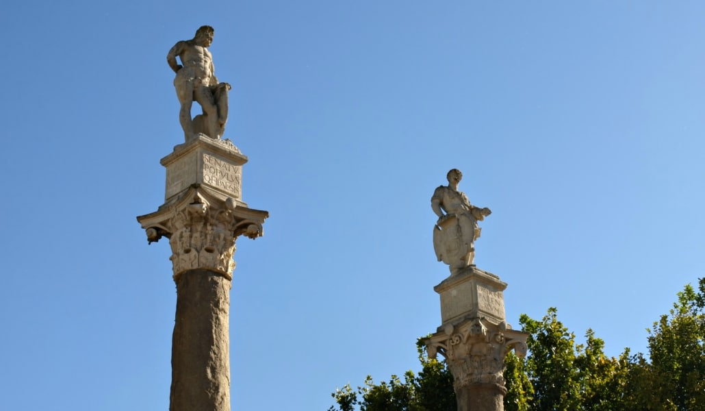 columnas romanas sevilla
