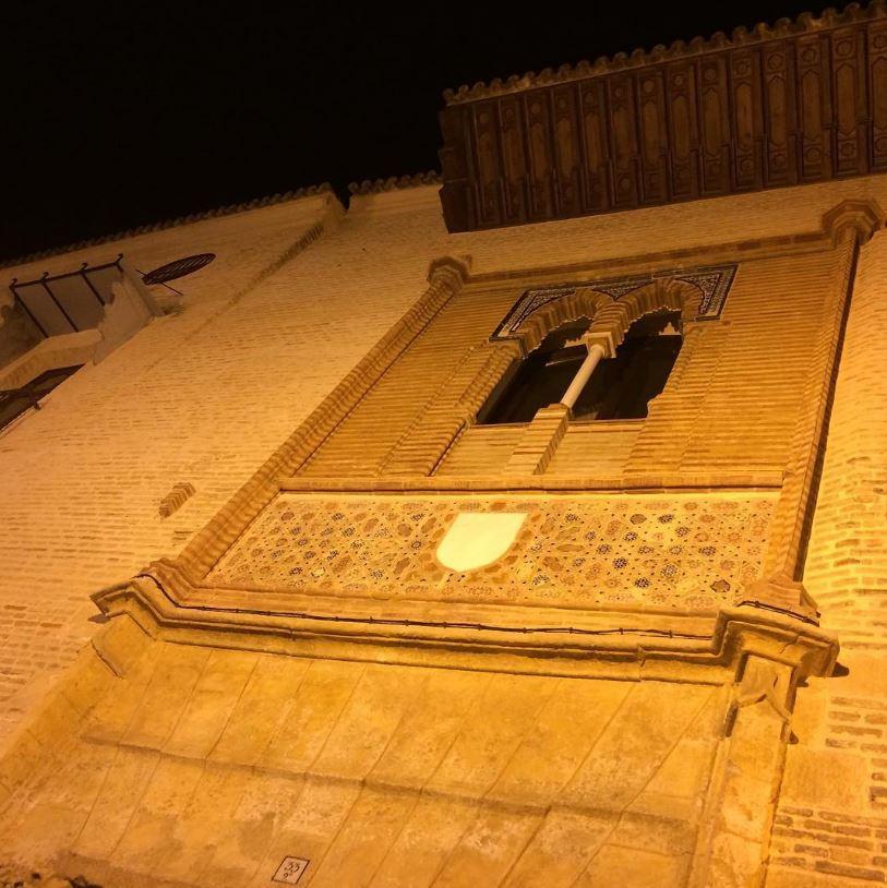 Palacio Marqueses Algaba noche