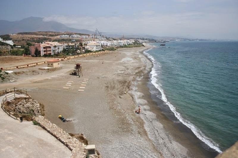 Playa Malaga perros