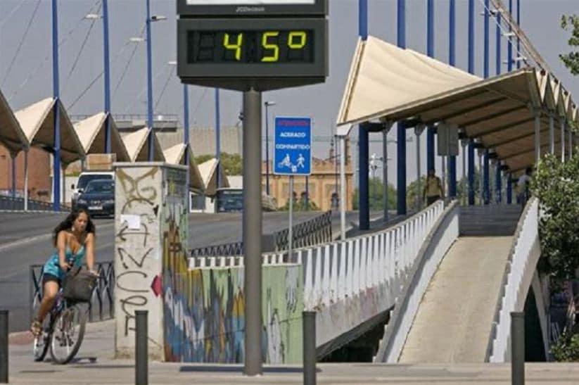Sevilla altas temperaturas