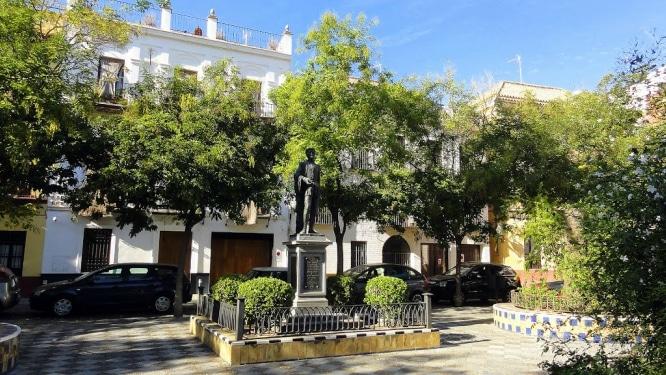 Plaza de los Refinadores Sevilla