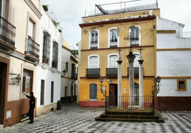 Calle Cruces Sevilla