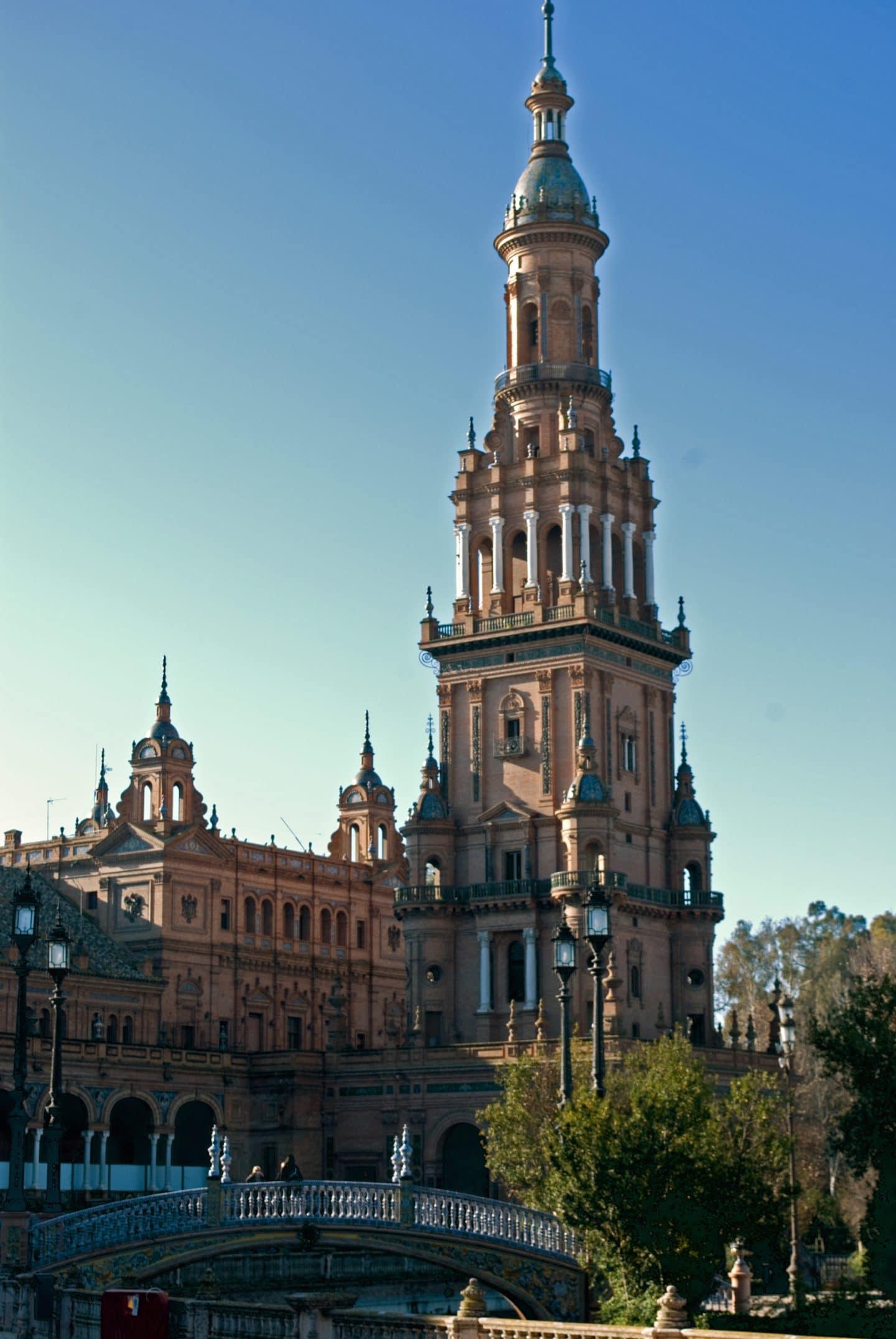 torre plaza de españa