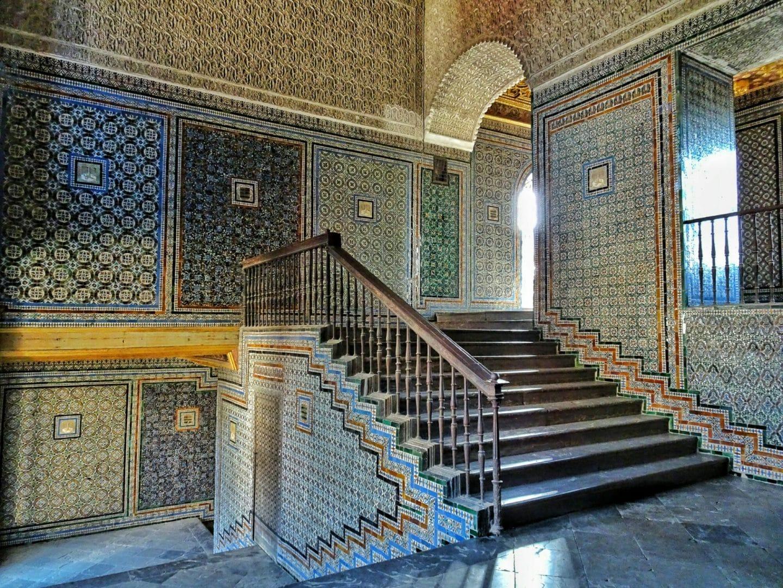 escalera casa de pilatos sevilla
