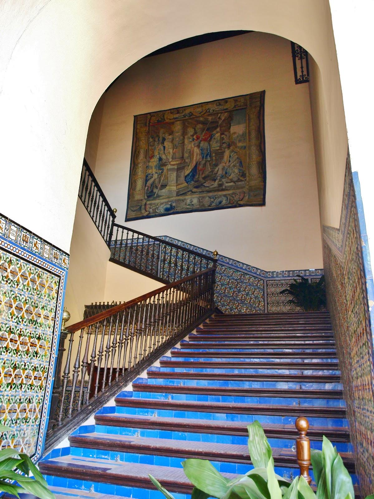 escalera Real Alcazar Sevilla