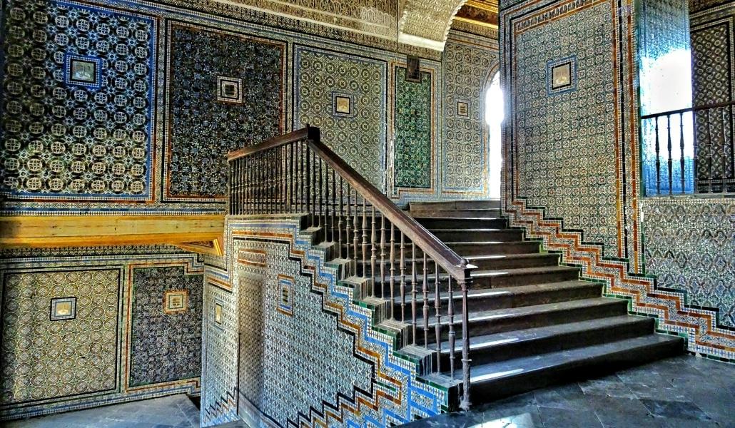 escaleras casa pilatos