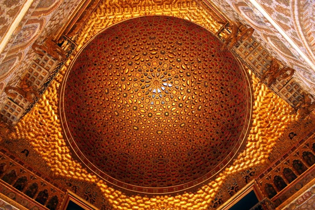 Cúpula Salón de Embajadores Real Alcázar Sevilla