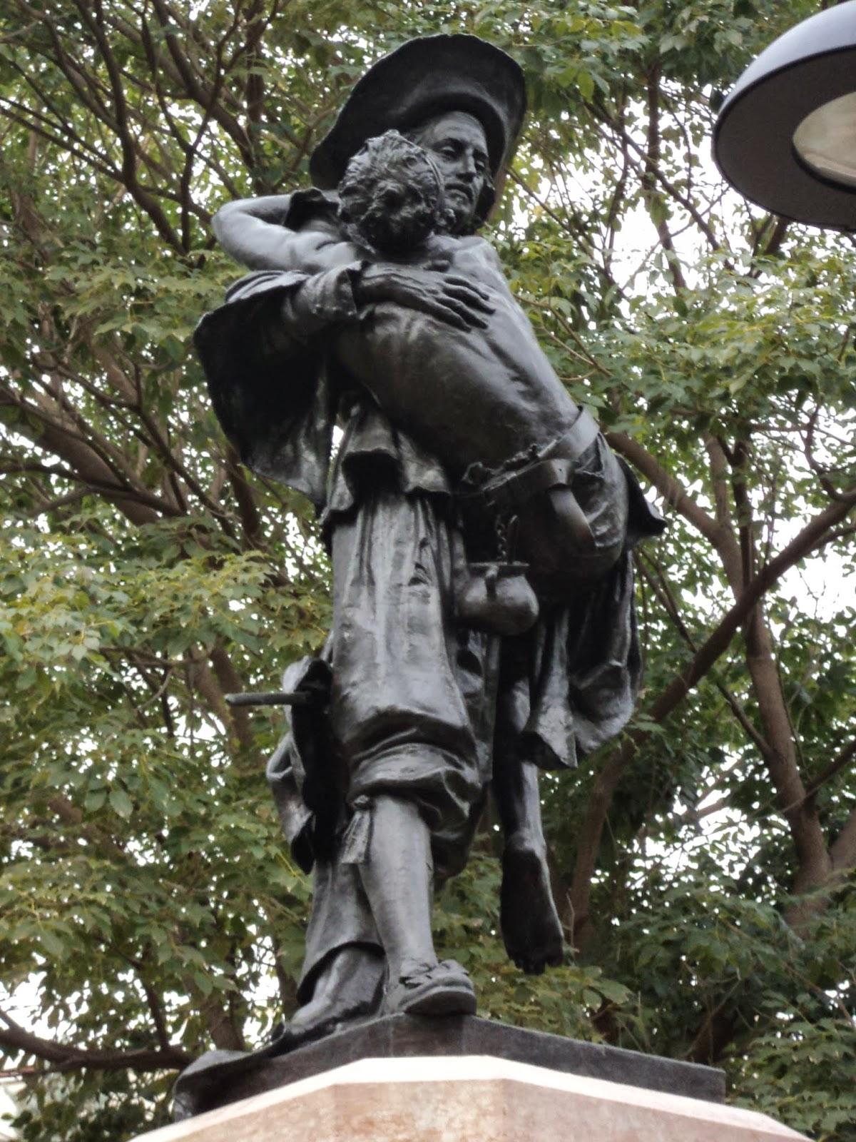 estatua Miguel de Mañara Sevilla