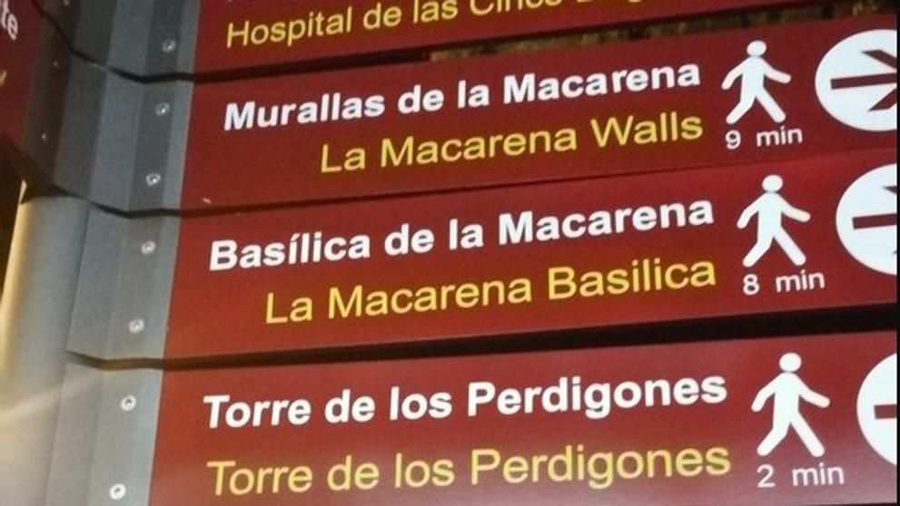 traducciones carteles Sevilla