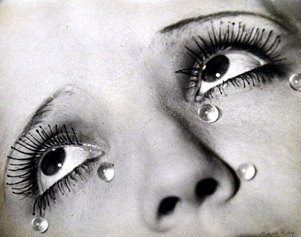 lagrimas de cristal Man Ray