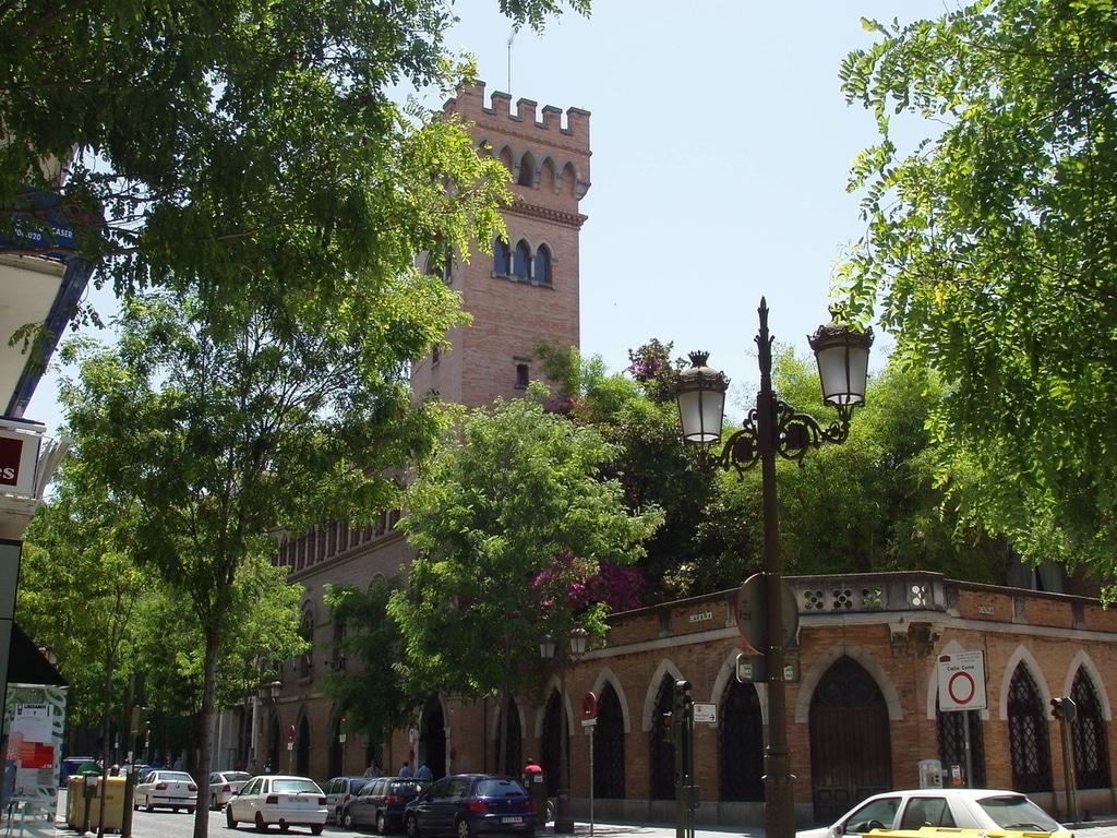 Vista exterior Palacio Marqués de la Montilla