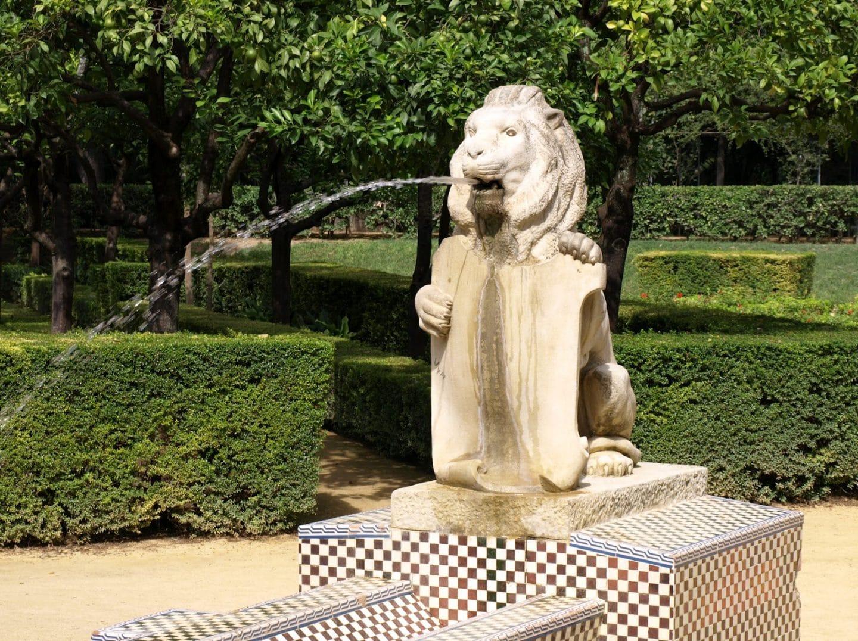 Parque de María Luisa Fuente de Leones