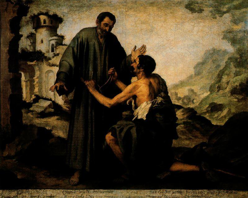 10-Fray-Junipero-y-el-mendigo-Museo-del-Louvre