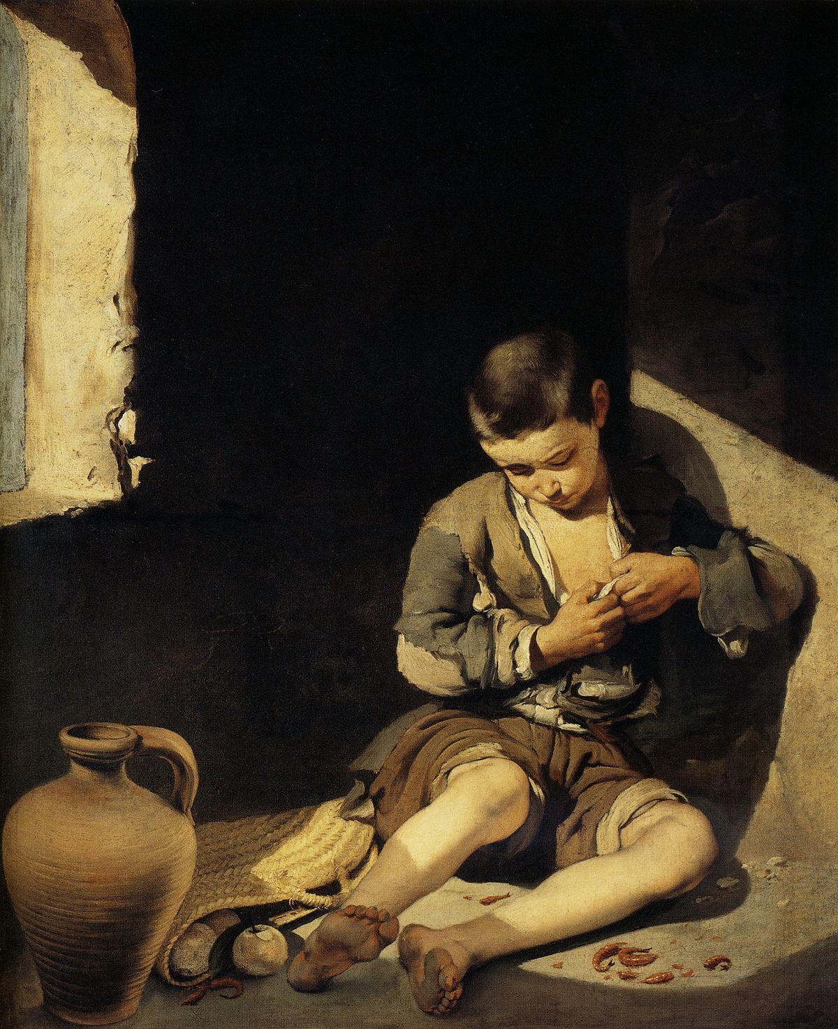Bartolomé_Esteban_Murillo_-_The_Young_Beggar