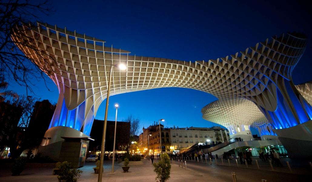 Sevilla.-Setas-de-Sevilla.-Plaza-Encarnacion.