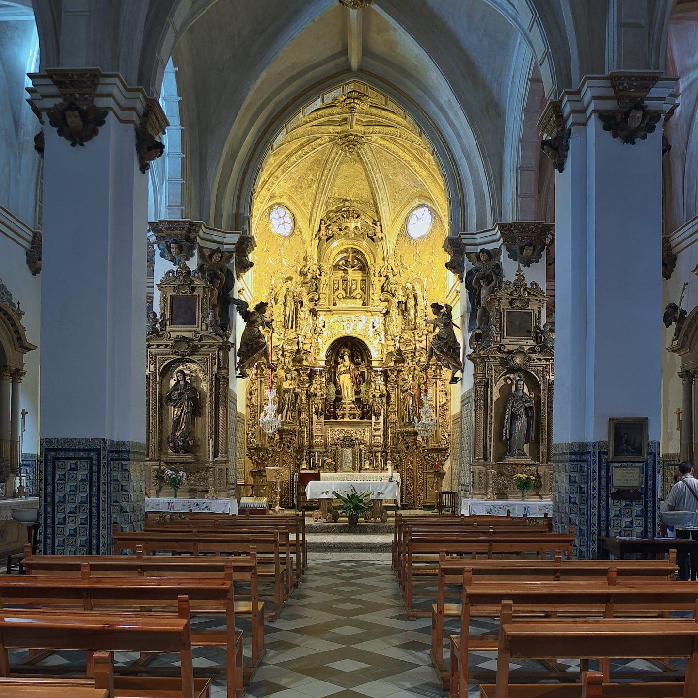 Convento_de_Santa_Inés_(Sevilla)._Altar_mayor