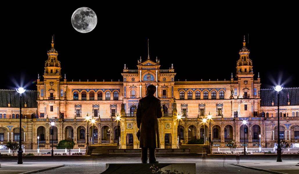 estatua-anibal-gonzalez-sevilla-plaza-espaa