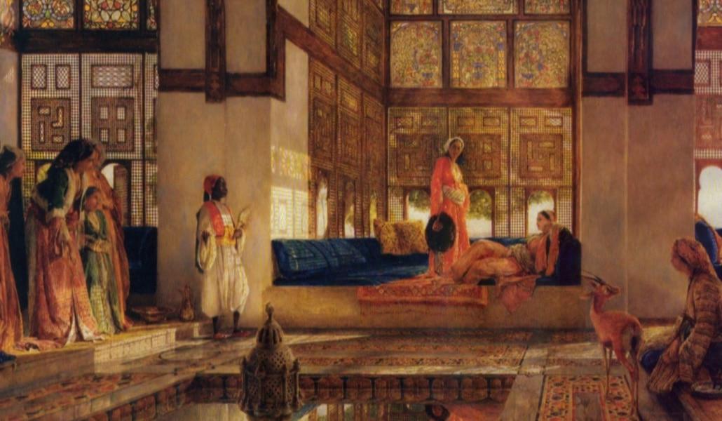 corte-de-almutamid-La-Reception-John-Frederick-Lewis-1873