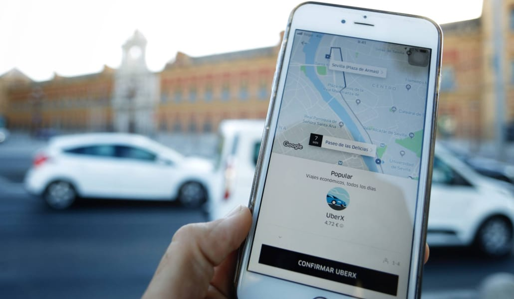 uber-cabify-sevilla