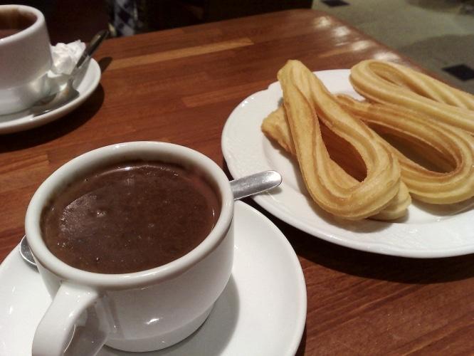 Chocolate en Sevilla