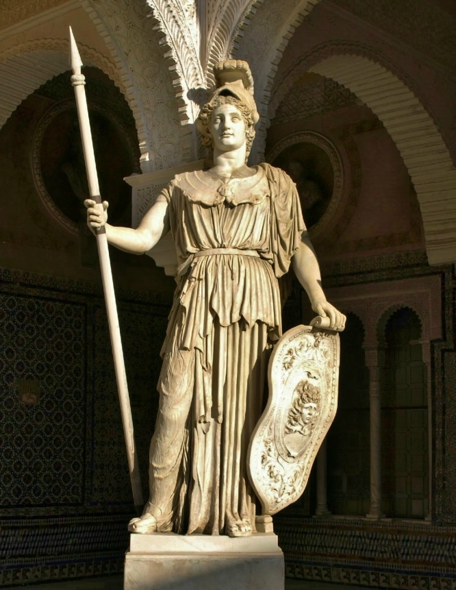 Palas Atenea Casa de Pilatos